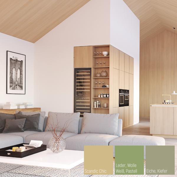Wohnen mit Holz - dieser Wohnstil passt