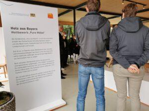 Holz aus Bayern - Wettbewerb Schreinerinnung Bayern